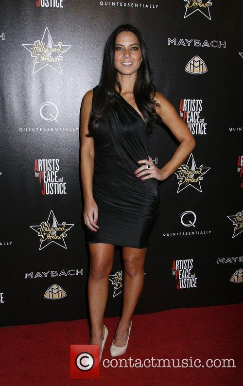 Olivia Munn 3rd Annual Pre-Oscar Hollywood Domino Gala...