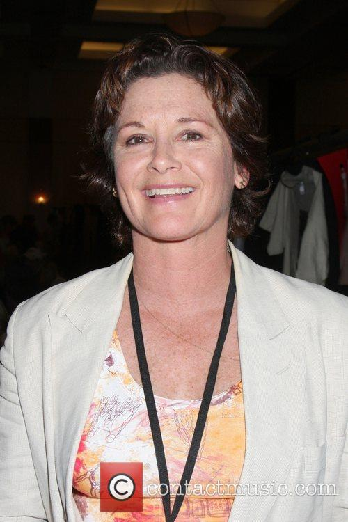 Stephanie Zimbalist the Hollywood Show at the Marriott...
