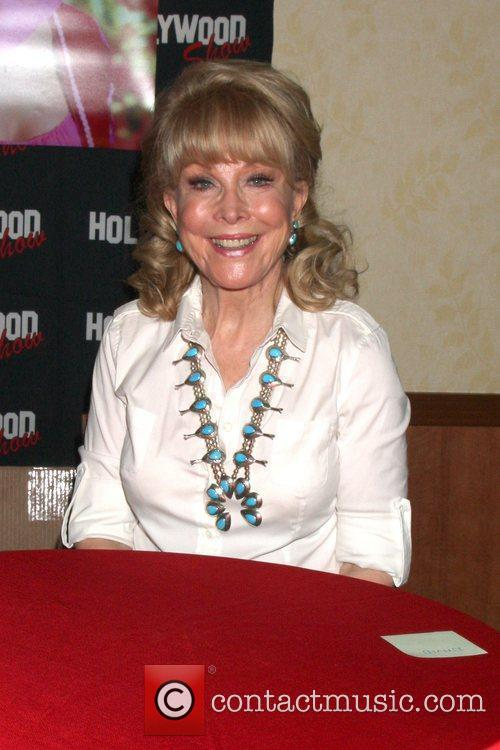 Barbara Eden the Hollywood Show at the Marriott...