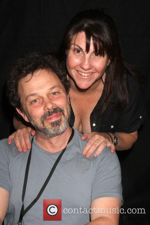 Elaine Aronson and Curtis Armstrong  the Hollywood...
