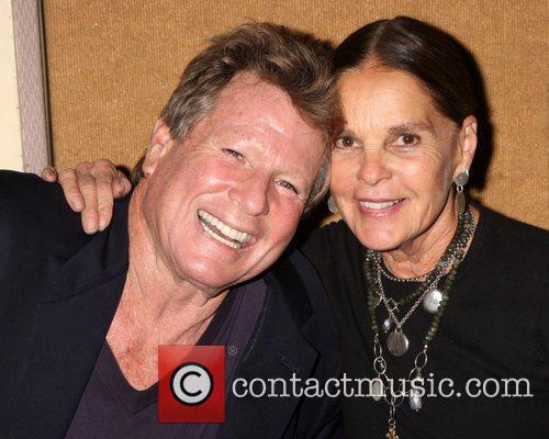 Ryan O'Neal and Ali McGraw the Hollywood Show...