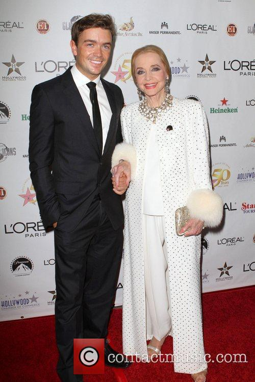 Anne Jeffreys and Emrhys Cooper the 50th anniversary...