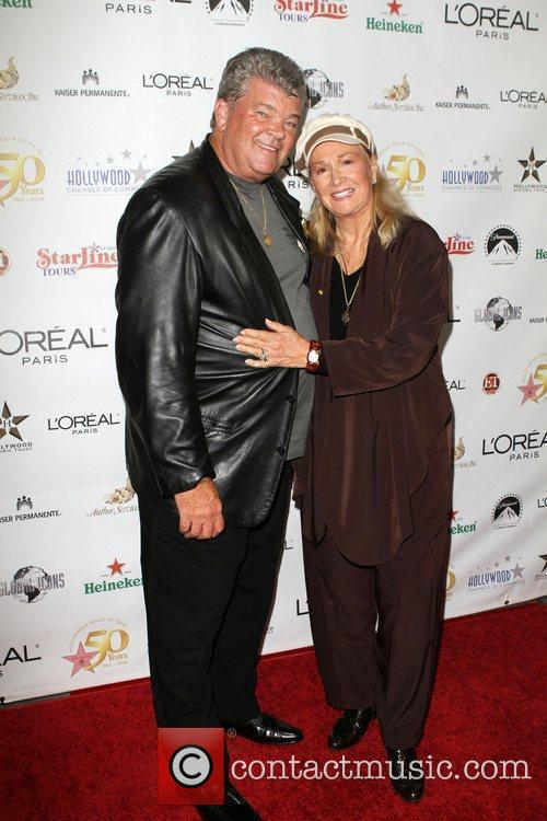 Diane Ladd and Guest the 50th anniversary birthday...