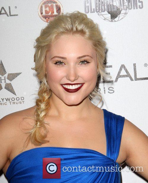 Hayley Hasselhoff the 50th anniversary birthday bash for...