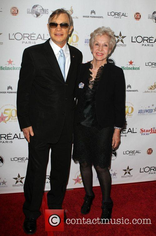 Michael York and his wife Patricia McCallum the...