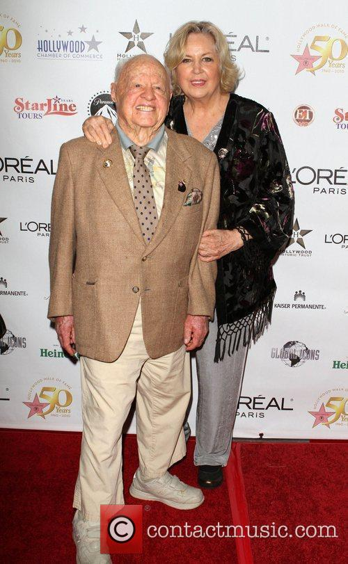 Mickey Rooney and Barbara Eden 7