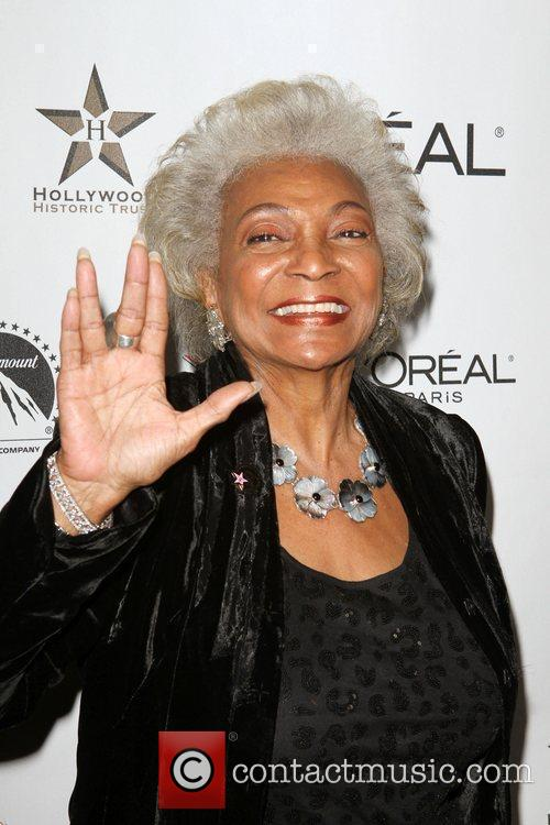 Nichelle Nichols the 50th anniversary birthday bash for...