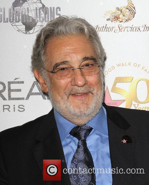 Placido Domingo the 50th anniversary birthday bash for...