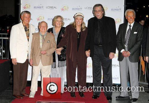 Roger Williams, Bob Barker, Diane Ladd, Jan Rooney and Jim Ladd 3