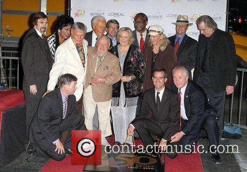 Roger Williams, Bob Barker, Diane Ladd, Jan Rooney and Jim Ladd 1