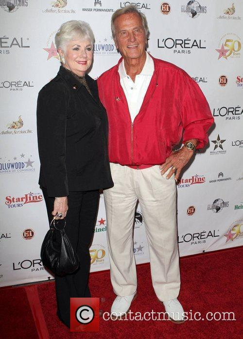 Shirley Jones and singer Pat Boon the 50th...