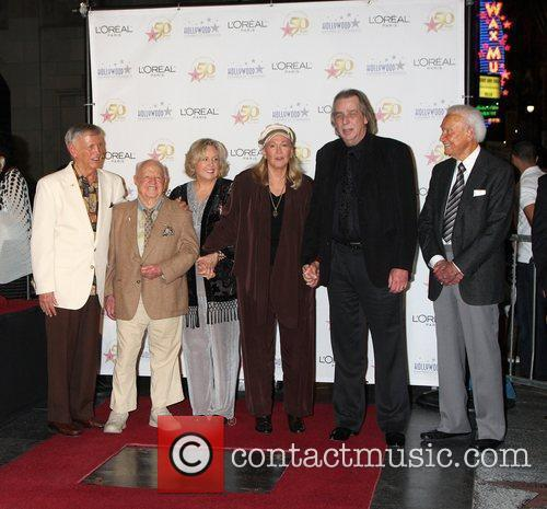 Mickey Rooney, Bob Barker, Diane Ladd, Jan Rooney and Jim Ladd 1