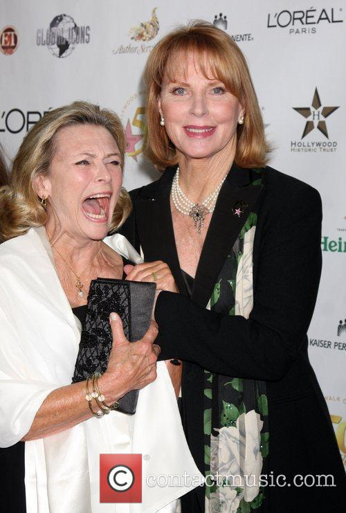 Patty McCormack and Mariette Hartley The 50th anniversary...