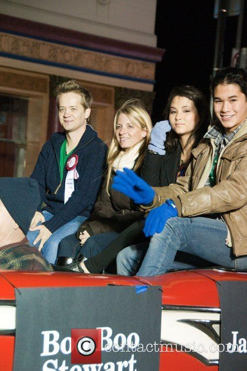 Boo Boo Stewart and Jason Earles