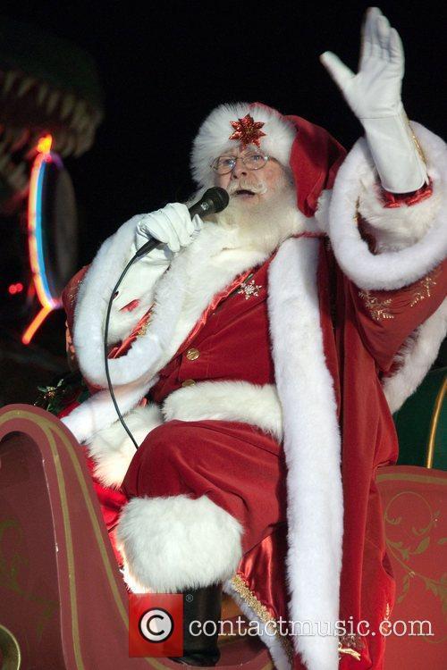 Santa Clause 2010 Hollywood Christmas Parade  Hollywood...