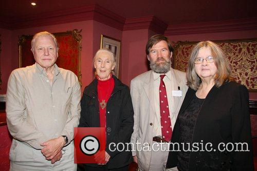Sir David Attenborough, Dr Jane Goodall, Ian Redmond,...