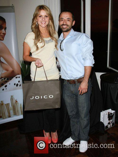Ali Fedotowsky and Hairstylist The Hospitality Suite hosted...