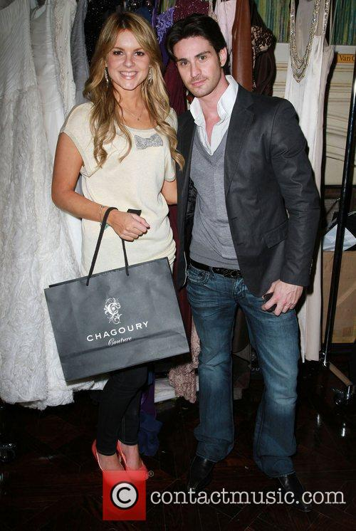 Ali Fedotowsky and Guest The Hospitality Suite hosted...