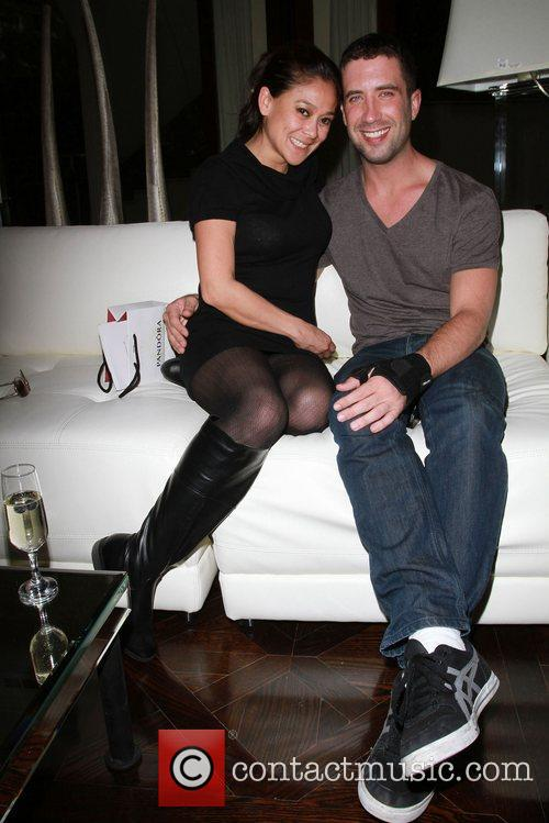 Ben Russo and Jane The Hospitality Suite hosted...
