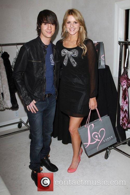 Chad Rogers, Ali Fedotowsky The Hospitality Suite hosted...