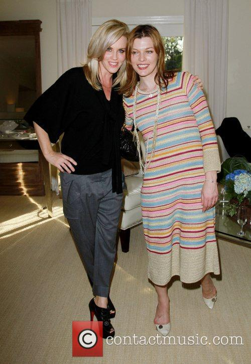 Jenny McCarthy, Milla Jovovich The Hospitality Suite hosted...