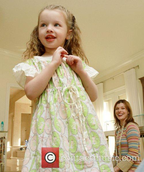 Milla Jovovich's daughter Ever Gabo The Hospitality Suite...