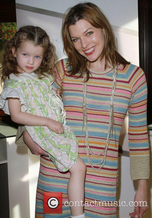 Milla Jovovich second pregnancy