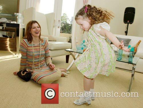 Milla Jovovich with daughter Ever Gabo The Hospitality...