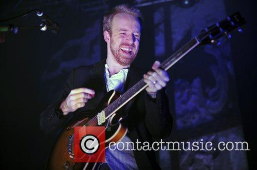 Al Doyle  Hot Chip performing live at...