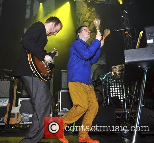 Hot Chip performing live at O2 Academy Leeds