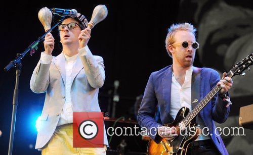 Hot Chip The 2010 Glastonbury Music Festival held...