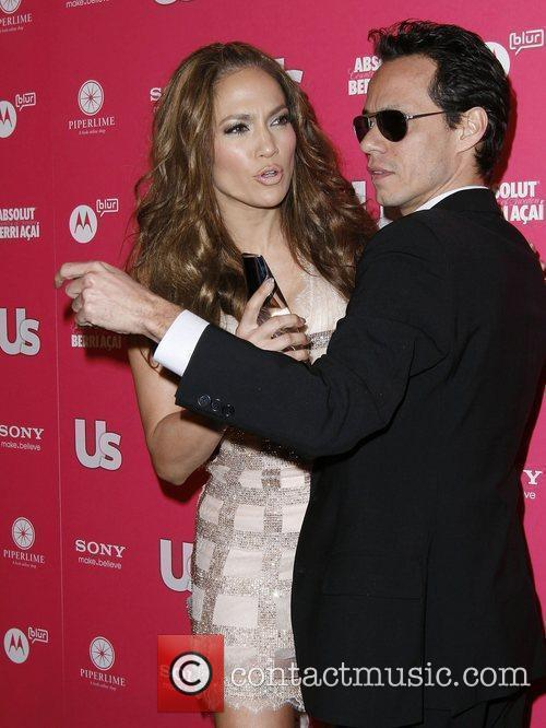 Jennifer Lopez and Marc Anthony US Weekly Annual...