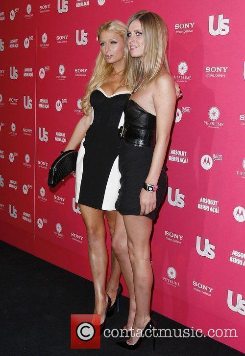 Paris Hilton and Nicky Hilton US Weekly Annual...