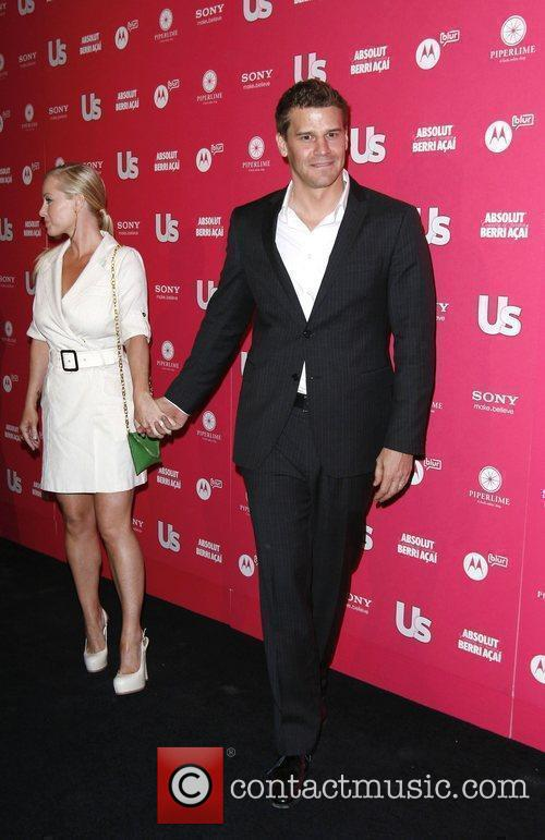 David Boreanaz and Jaime Bergman 1