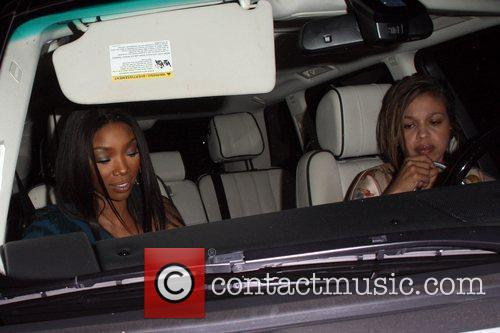 Brandy Norwood US Weekly's Hot Hollywood Event held...