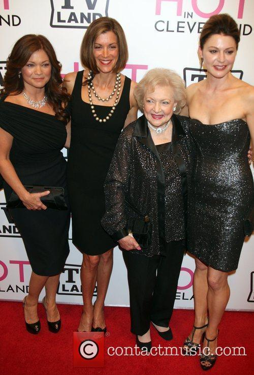 Attend the 'Hot in Cleveland' premiere at the...