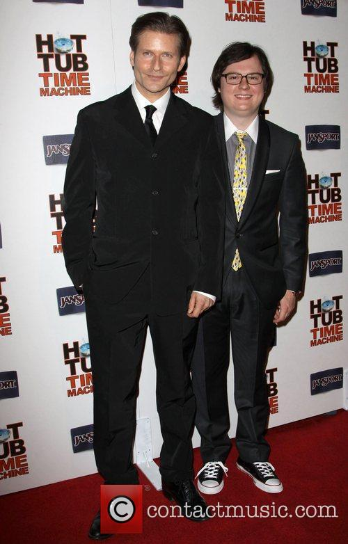 Crispin Glover and Clark Duke 11