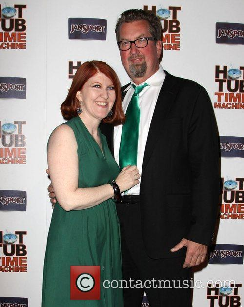 Kate Flannery and Chris Haston 5