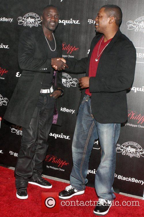 Akon and Mekhi Phifer House of Hype VMA...