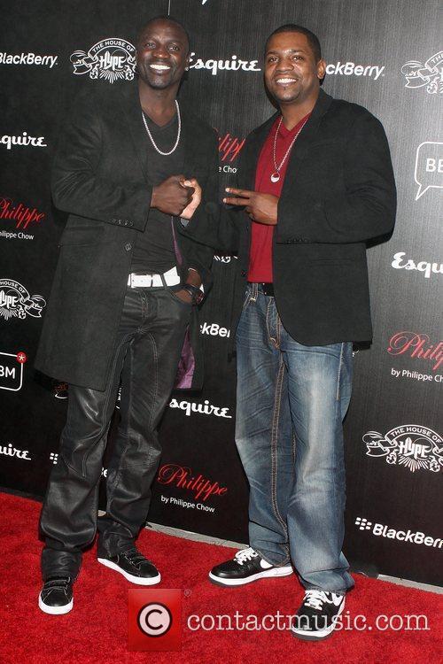 Akon and Mekhi Phifer 3