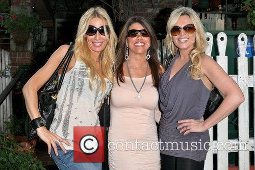 Peggy Tanous, Lynne Curtin and Tamra Barney Cast...