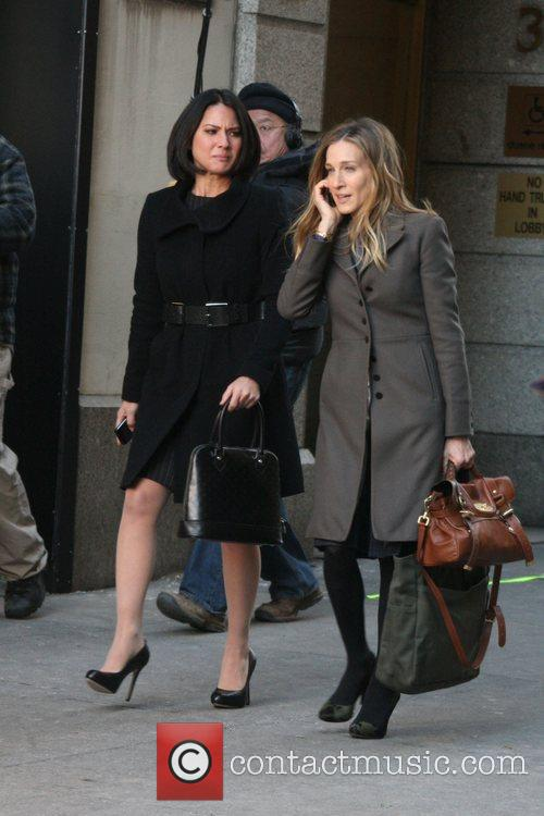 Olivia Munn and Sarah Jessica Parker 5