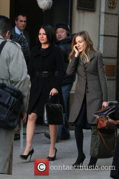 Olivia Munn and Sarah Jessica Parker 6