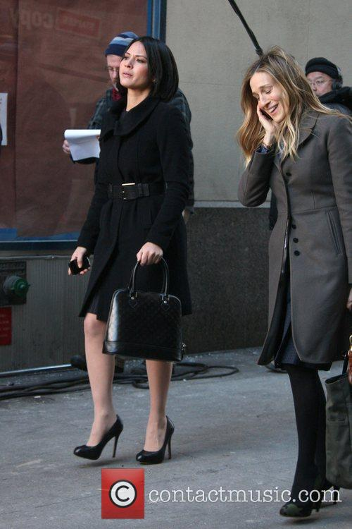 Olivia Munn and Sarah Jessica Parker 2