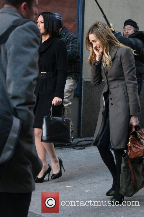 Olivia Munn and Sarah Jessica Parker 7