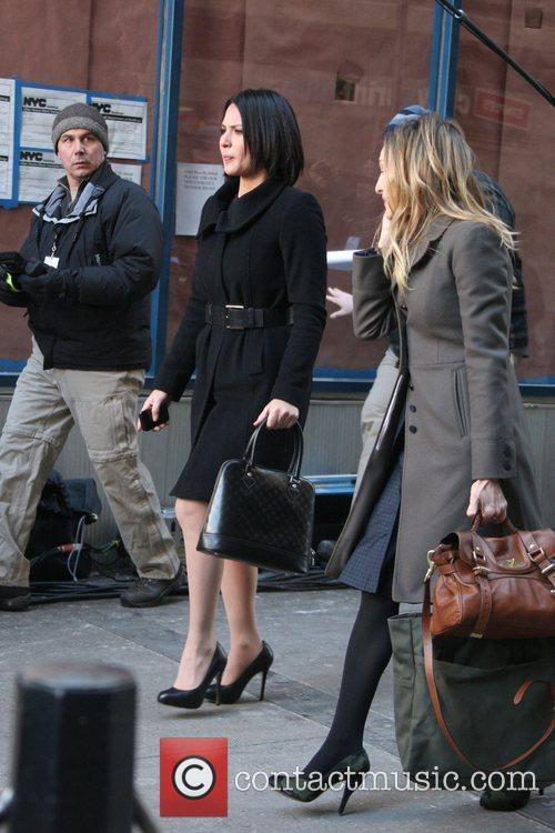 Olivia Munn and Sarah Jessica Parker 4