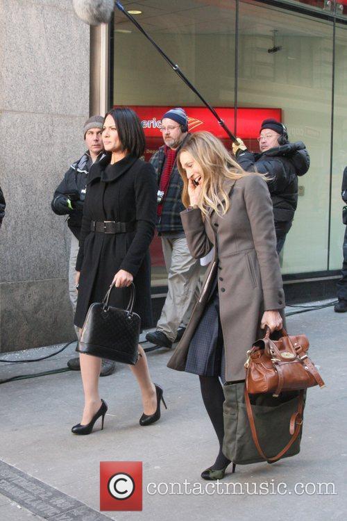 Olivia Munn and Sarah Jessica Parker 9