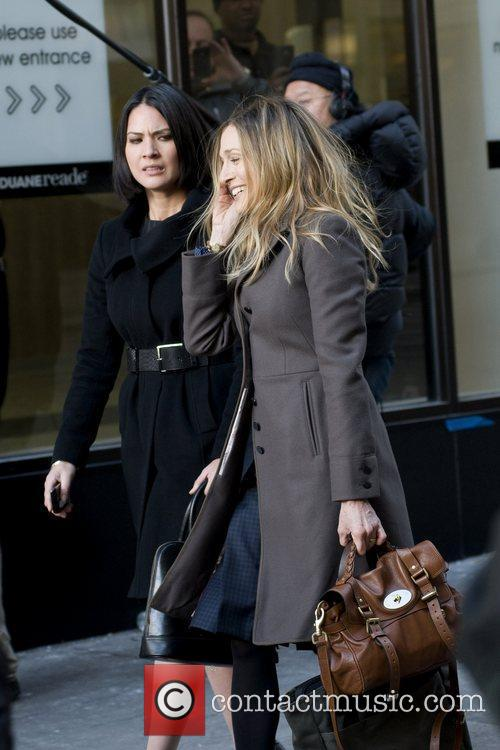 Olivia Munn and Sarah Jessica Parker 19