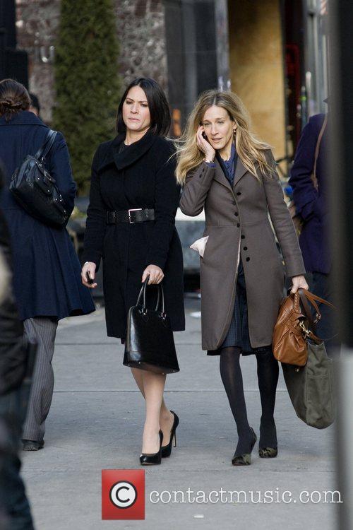 Olivia Munn and Sarah Jessica Parker 20