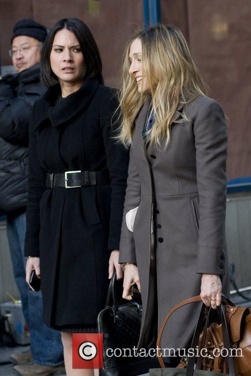 Olivia Munn and Sarah Jessica Parker 14